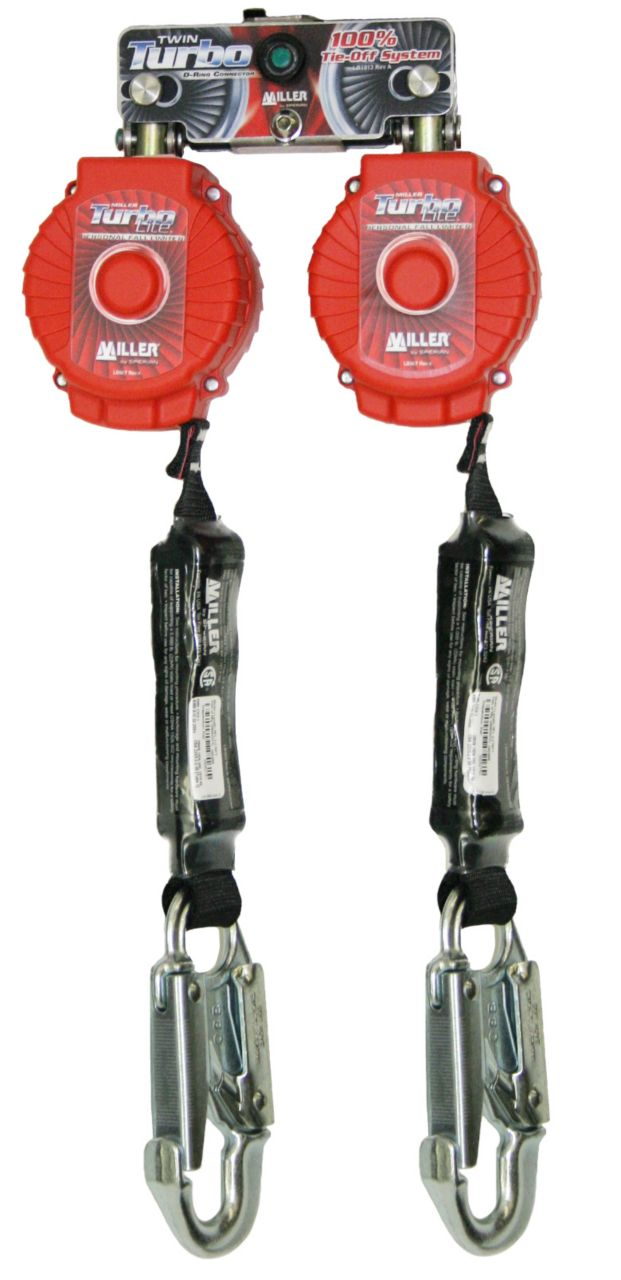 Miller Twin Turbo™ Fall Protection Systems with D-Ring Connector_3
