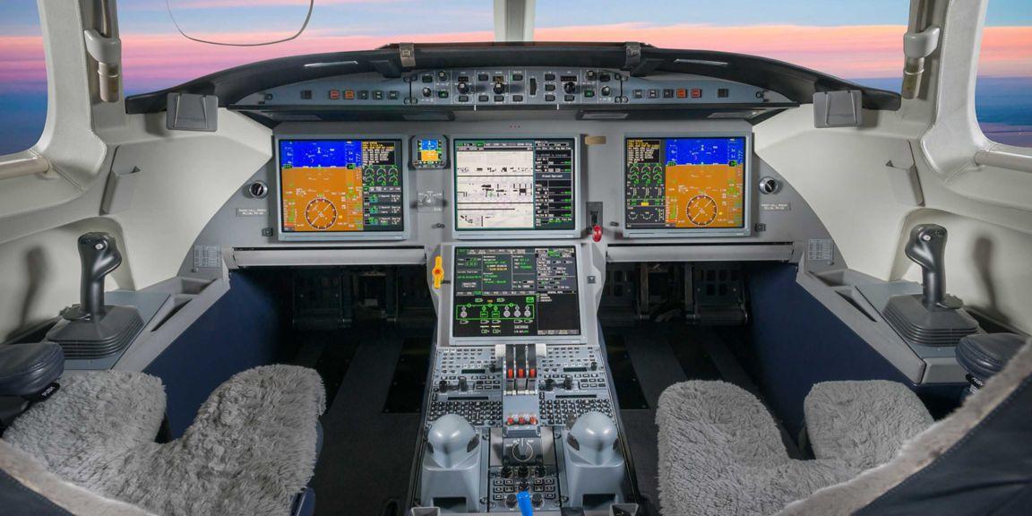 Dassault Falcon 7X Flight Deck