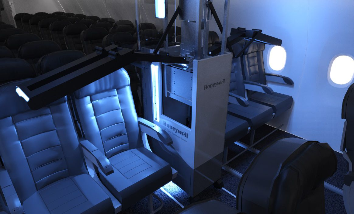 UV Cabin System Treatment