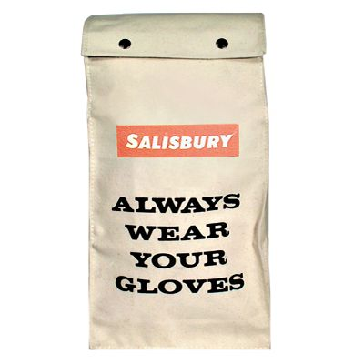 26 oz. Canvas Glove Bags
