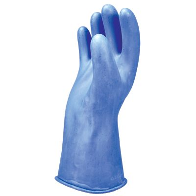 Class 00 Electrical Insulating Rubber Gloves - 11 inch_1