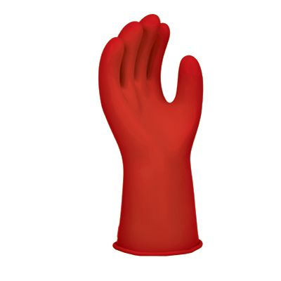 Class 0 Electrical Insulating Rubber Gloves_1