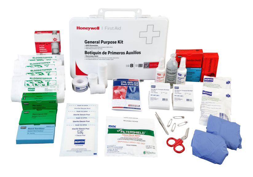 Plastic Bulk First Aid Kit