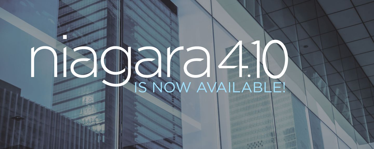 Niagara 4.10 is now available