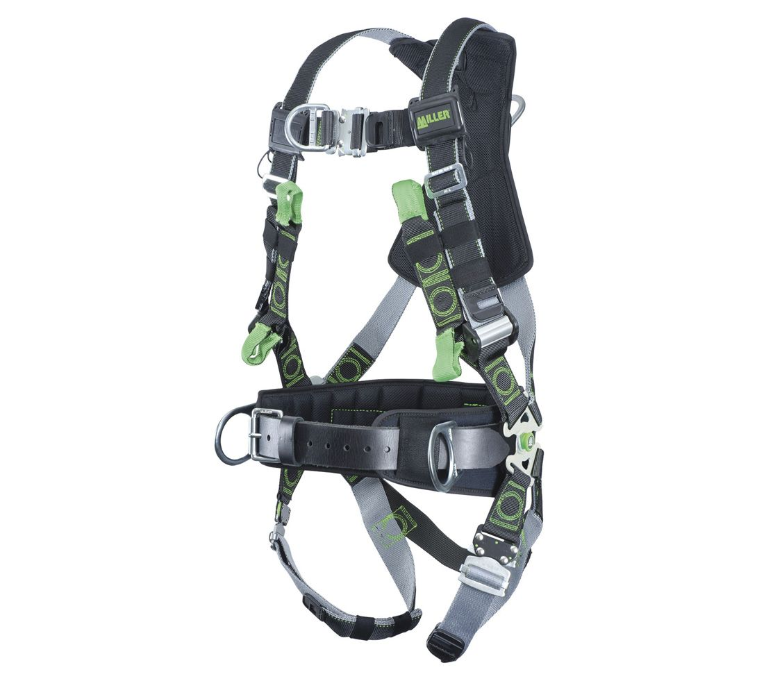 Miller Revolution Tower Climbing Harness_1
