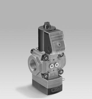 Kromschroeder VAD, VAG, VAH, VAV pressure regulators with solenoid valve
