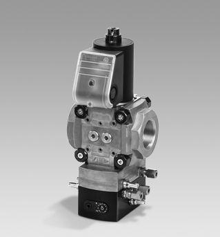 Kromschroeder VAD, VAG, VAH, VAV pressure regulators with solenoid valve_2