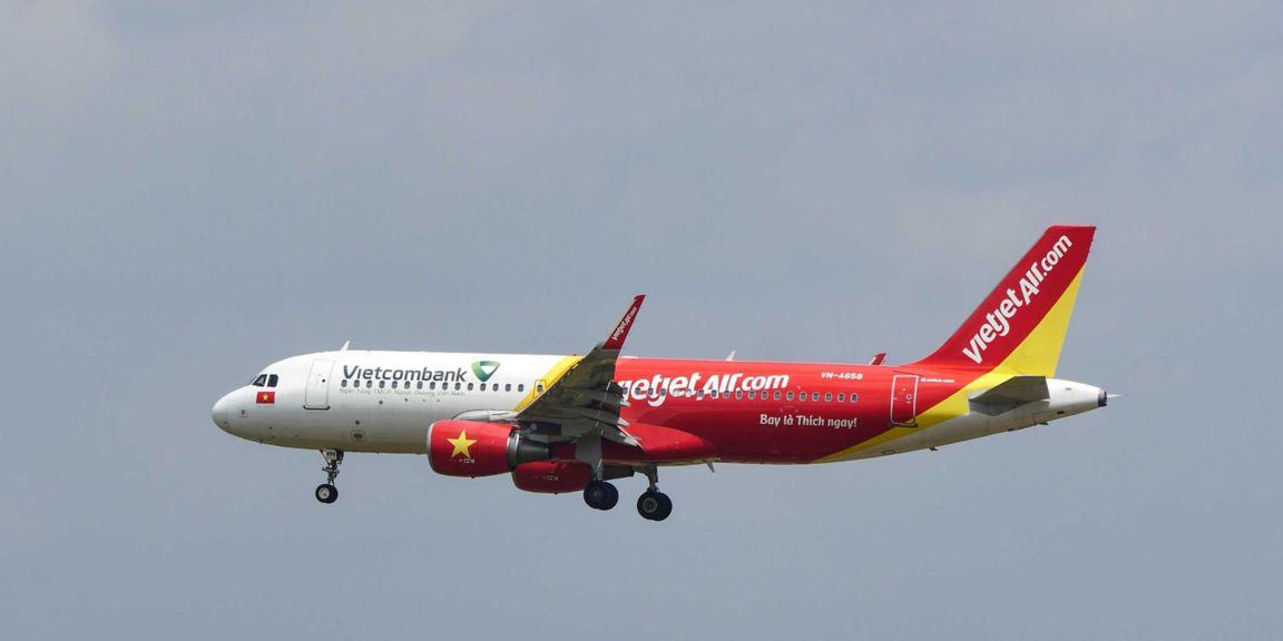 VietJet Airplane Airbus A320