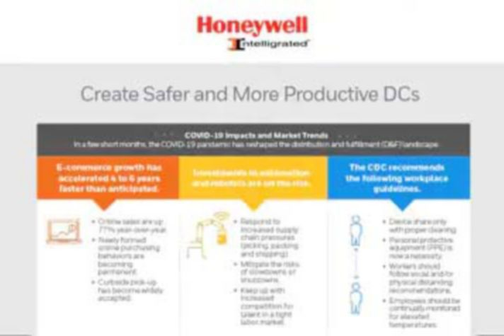 Create Safer and More Productive DCs