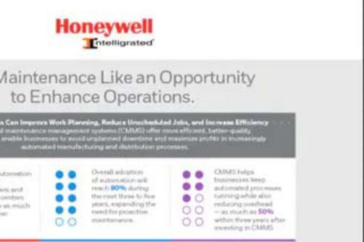 Treat Maintenance Like an Opportunity to Enhance Operations