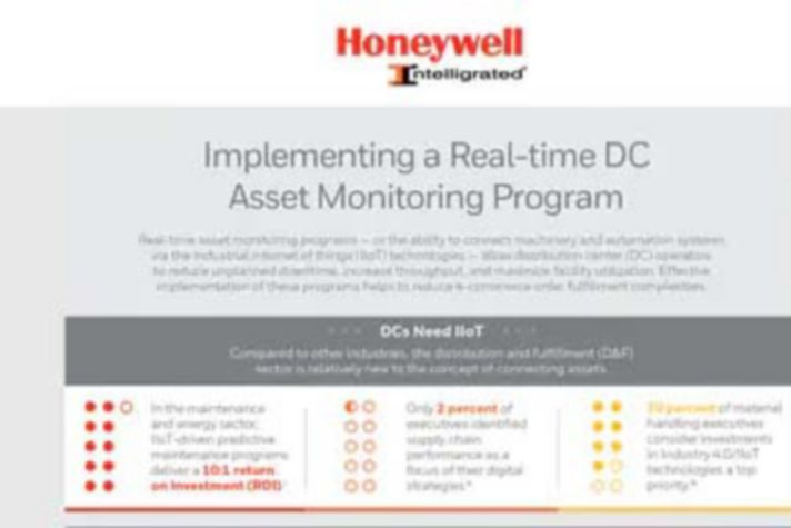 Implementing a Real-time DC Asset Monitoring Program