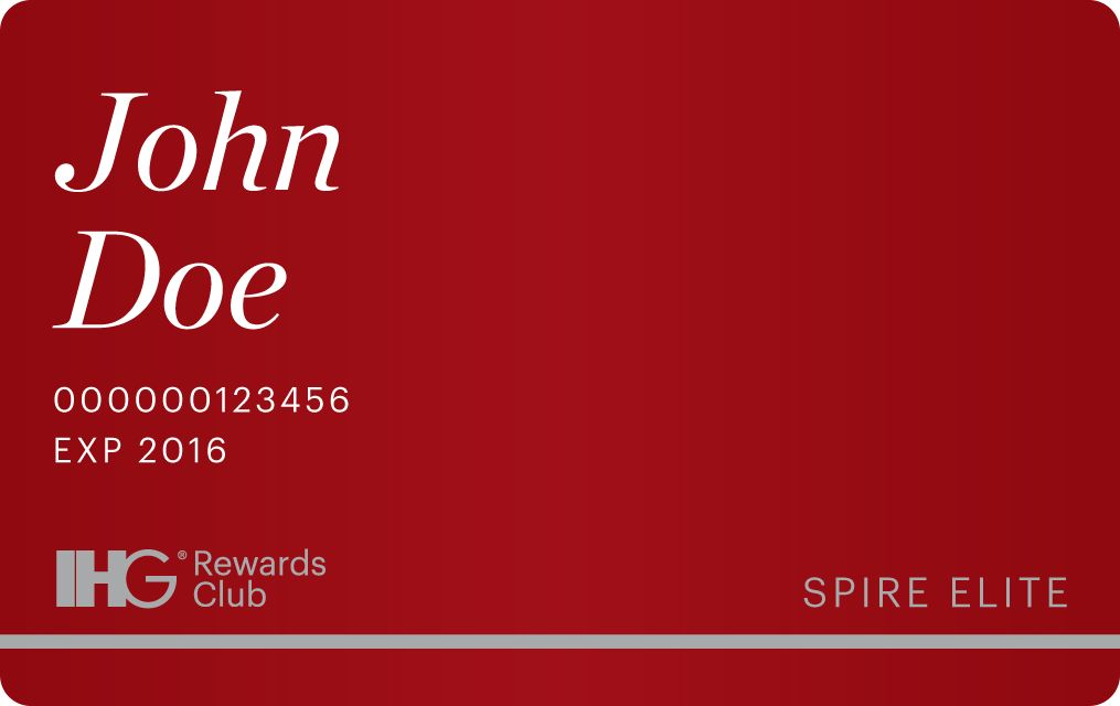 Card Spire Join IHG Rewards Club