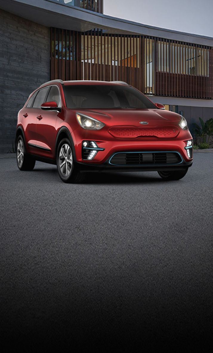 2020 Kia Niro EV Parked In Front Of A Home
