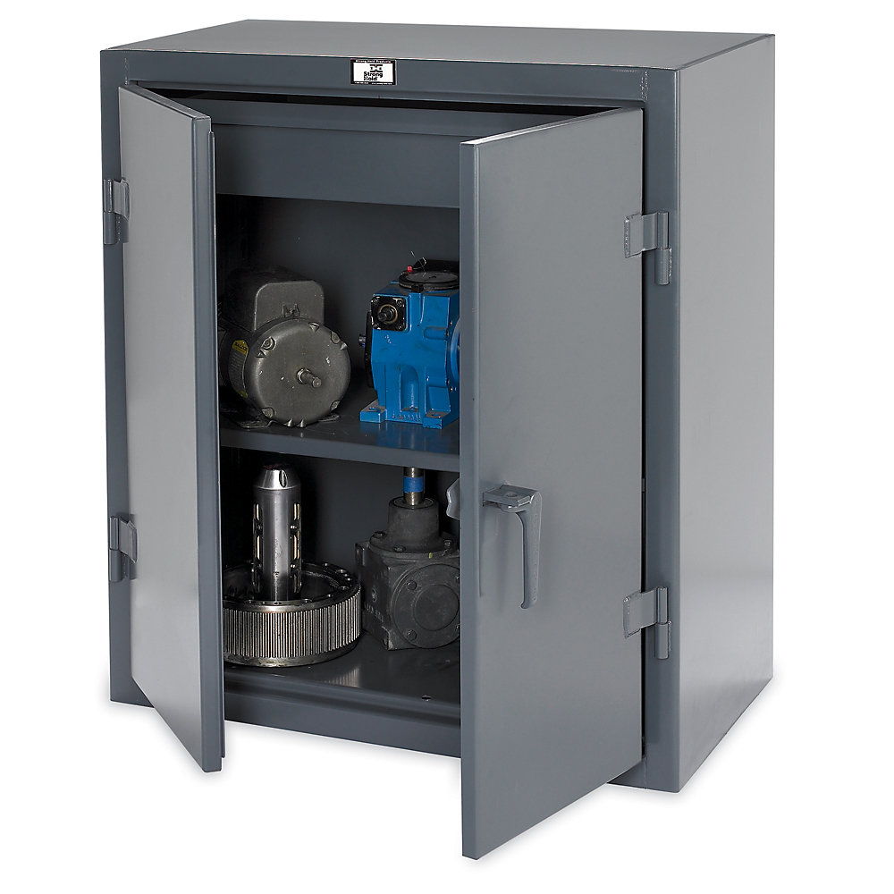 Strong Hold All Welded Shop Cabinets 36x20x42 Quanoodle