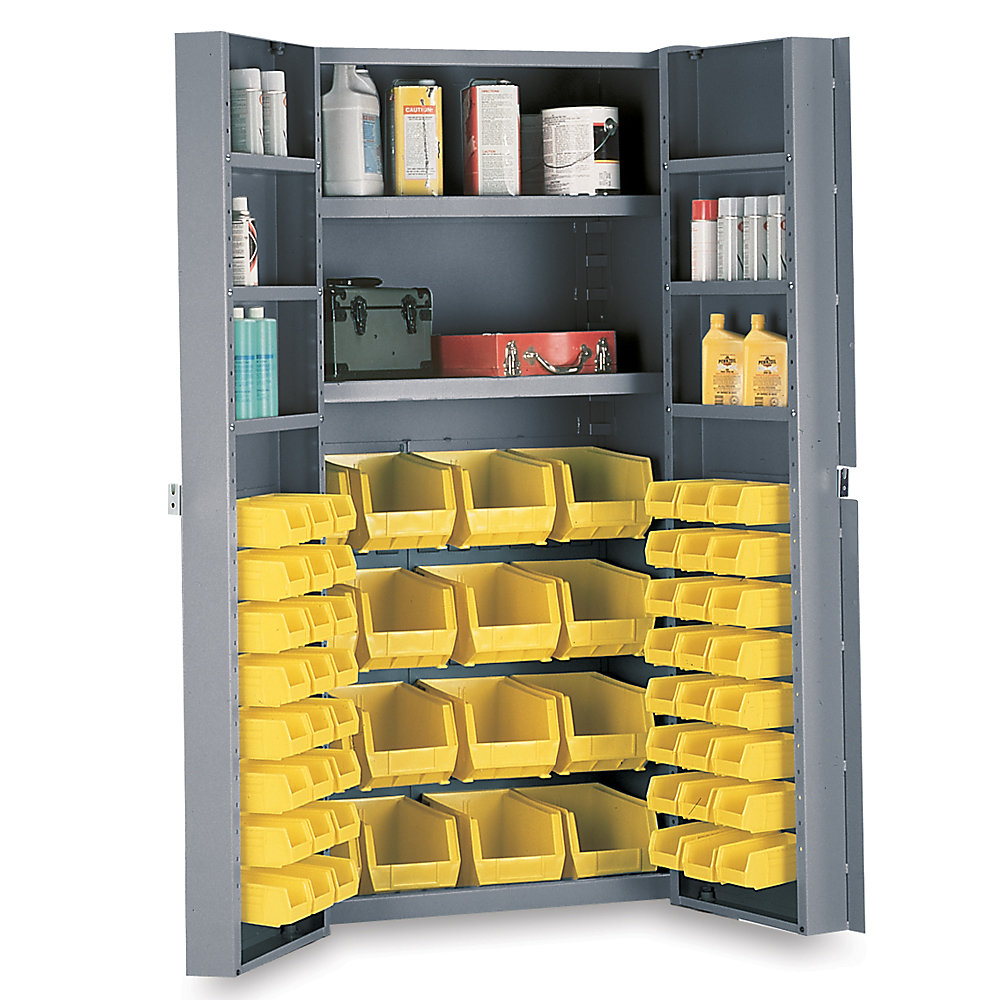 Deep Kitchen Cabinet Solutions: Relius Solutions Ultra Deep-door 2-shelf Combination Bin