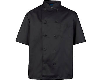 Men's Classic Short Sleeve Chef Coat