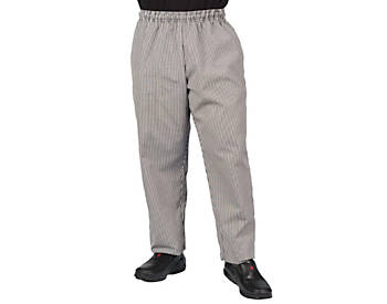 Checkered Plaid Baggy Chef Pants