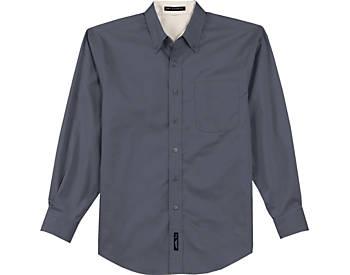 Mens Wrinkle Resistant Dress Shirt, Long Sleeve