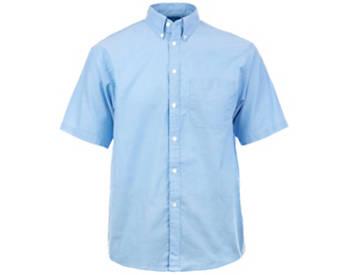 KNG® Mens Short Sleeve Oxford Shirt