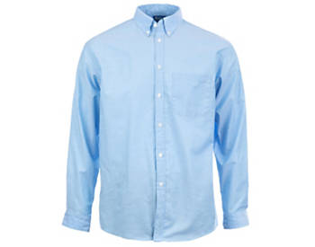 KNG® Mens Long Sleeve Oxford Shirt