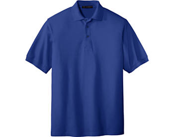 Mens Soft Touch Pique Sport Shirt, Short Sleeve