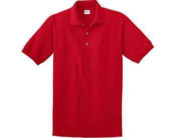 Unisex, Pique Knit Solid Color Sport Shirt