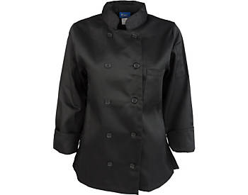 Women's Classic Long Sleeve Chef Coat