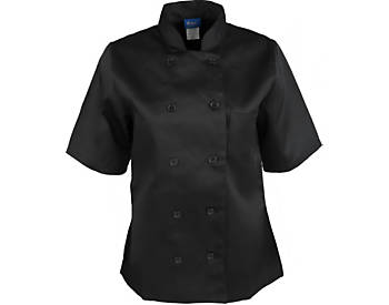 Women's Classic Short Sleeve Chef Coat