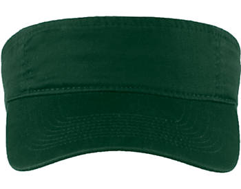 Fashion Visor With Curved Bill