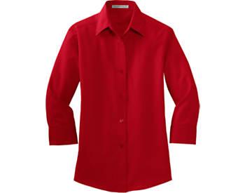 Port Authority® Ladies Qtr. Sleeve Shirt