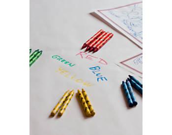 Crayons, 125 packs of 4