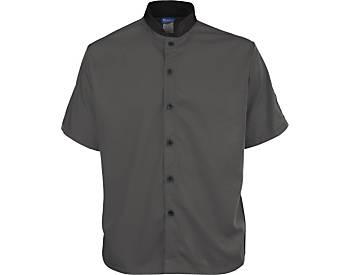Short Sleeve Lightweight Poplin Cook Shirt