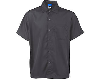 Super Lightweight Snap Front Cook Shirt, Slate