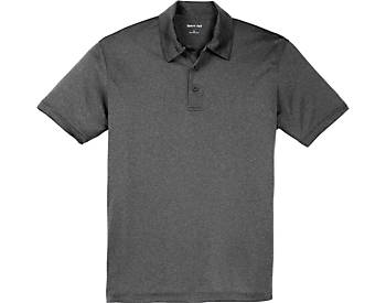 Mens Heather Contender Polo