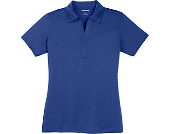 Womens Heather Contender Polo