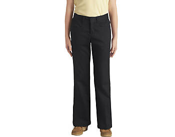 Girls Classic Fit Twill Pants