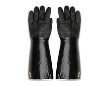 "17"" Rotissi Neoprene Gloves with Grommet"