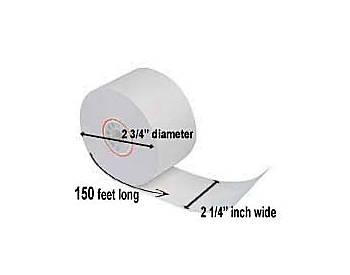 "Single-Ply Paper Rolls, 2¼"" x 150', 100 Rolls"