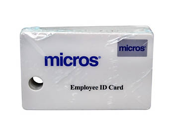 Micros Security Cards