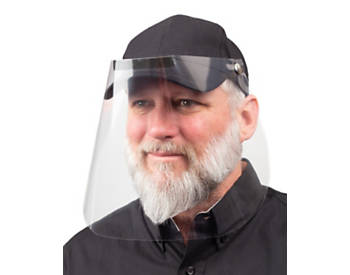 Ball Cap with Face Shield