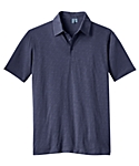 Mens Tech Slub Knit Sport Shirt