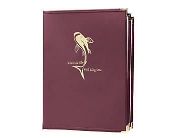 4 View Book Style Fine Bistro Menu