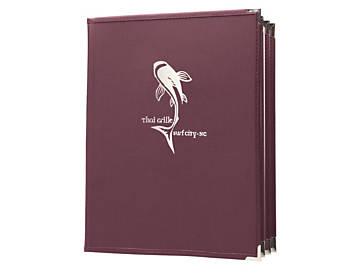 6 View Book Style Fine Bistro Menu