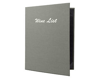 Heavy Duty 4 View Book Style Quality Casebound Menu