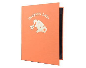 Heavy Duty Double Pocket Quality Casebound Menu