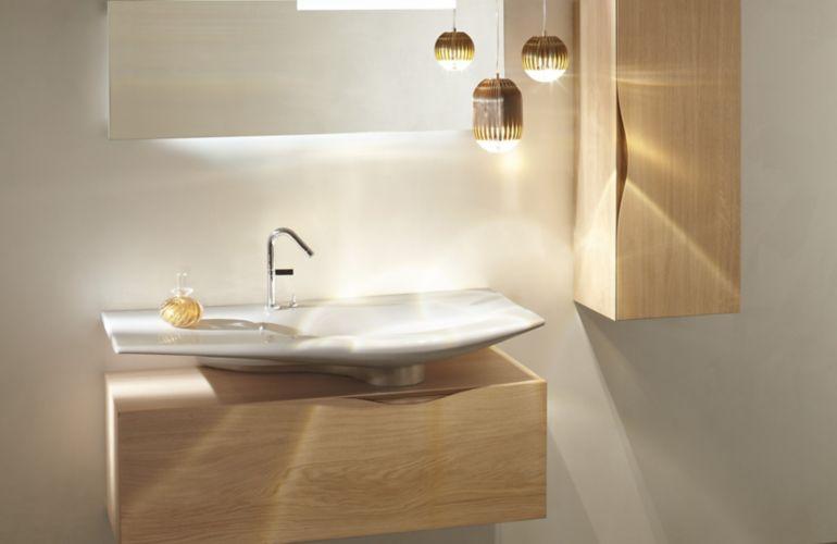 Le bois dans la salle de bains