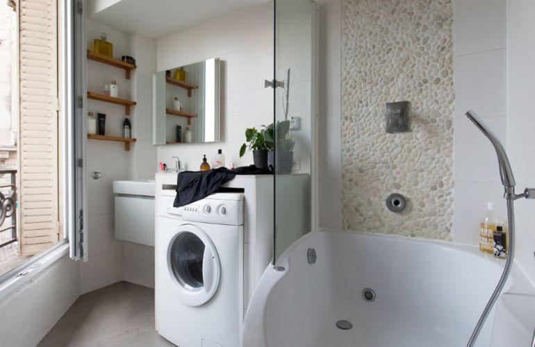 La nouvelle salle de bains d'Isabelle, plus chic et plus pratique