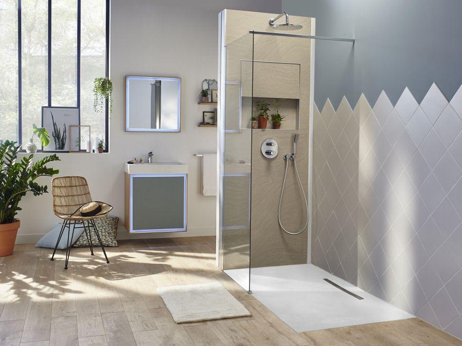 La douche à l'italienne Ecrin