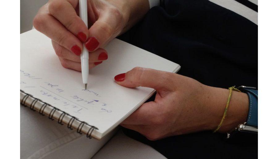 Notes d'une écrivaine d'un magazine artistique et design