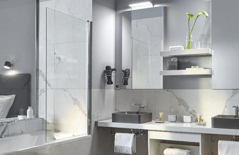 Une salle de bains comme à l'hôtel